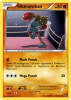 TheAlphaRanger Fake Cards 107/718: Hitmonchan by TheAlphaRanger