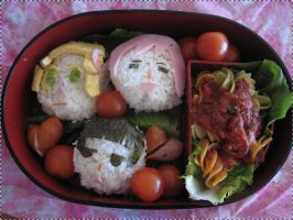Hetalia Axis Powers bentou by Annachuu