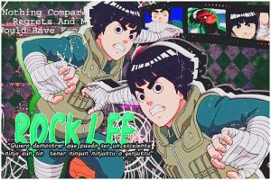 Rock Lee! by RenataSamaxHime
