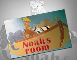 Noah nameplaque by Freds-head