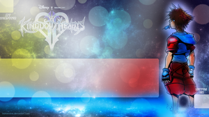 Gazing at the stars - Kingdom Hearts Wallpaper 2 by InMoeView