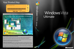 Vista Ultimate DVD Cover v2.0 by elbuga