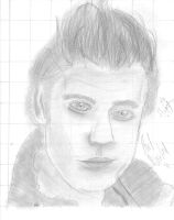 Paul Wesley by RytheArtist