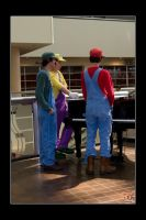 Mario Brothers - Three Tenors by Kuragiman