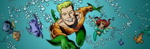 Aquaman Shrine Header, August 2011 by johntrumbull