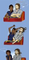 Ichabod versus the Rollercoaster by Kitoky
