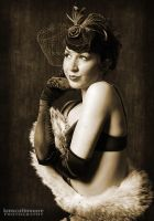 Kitty Flapper Vintage by kmscottmoore
