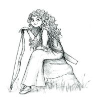Merida Sketch by Atarial