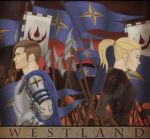 Westland - Book Cover (Part) by Iskarien