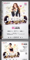 Club Flyer Template: School / College Night by CaJoE-Design