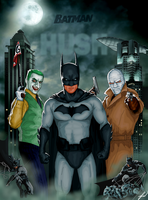 Batman: HUSH Poster by RatGnaw