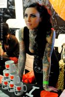 Makani Terror/Berlin Tattoo Convention 2012 by arkadiusz666