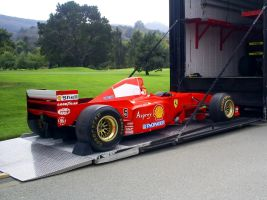 Ferrari F1 Schumacher car by Partywave