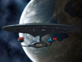 Prologic9 Enterprise-D by davemetlesits