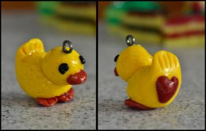 Sculpey Duckling by MayEbony