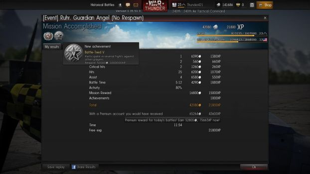 War Thunder: The Average Guardian Angel by PurplePhantom104