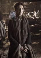 Catelyn Stark and Her Daemon by LJ-Todd