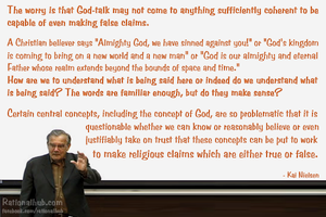 The trouble with god-talk.. by rationalhub
