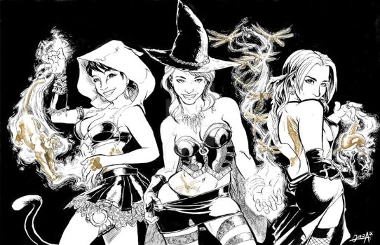 Witches commission by mistermoster