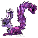 Grab Bag Adopt - 'Lilac' - therainbowtomboy by Feralx1