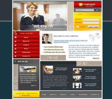 Corporate Solution - Template by weathered83