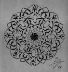 Freehand octagon by Forest-of-Blades