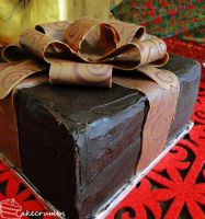 Competition: Chocolate and Sherry Cherry Gift Box by cakecrumbs