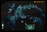 RE- AUCTION: Illegal Deep Lagoon Kami (CLOSED) by Mad-Izoku