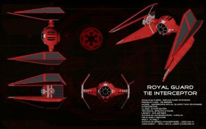 Royal Guard TIE Interceptor ortho by unusualsuspex