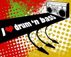 i love drum 'n bass by natanatan