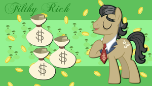 Filthy Rich Wallpaper by TheSharp0ne