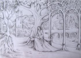 Arwen in Rivendell by AnotherStranger-Me