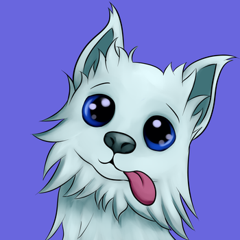 Fluffy Puppy Commission by Grennadder