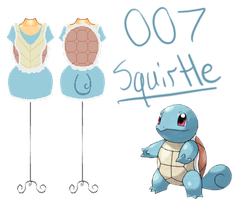 Pokedresses - 007 - Squirtle by AK-Manga
