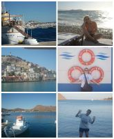 Greece Collage 2 by Creepyland