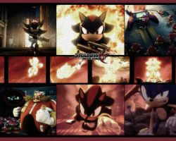 Shadow the Hedgehog Desktop by tquinnathome1