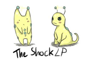 Mascot for TheShockLP (Sketch) by TheHoneyScream