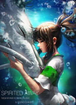 Spirited Away by Liang-Xing