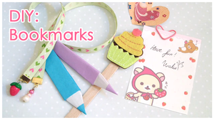 DIY: Six Styles of Bookmarks by Leviana