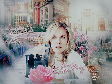 Gillian Anderson Blend by kellyjules