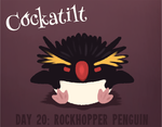 Birdstarter Day 20: Rockhopper Penguin by Furrama