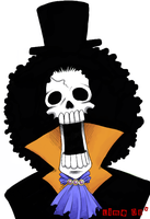 Brook - One Piece by thegreatlimechan