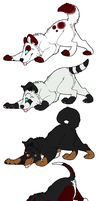 Puppy Adoptables :OPEN: by JemimaKitty