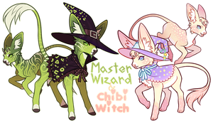 Minkin Witches! Auction OPEN by SA1B0T