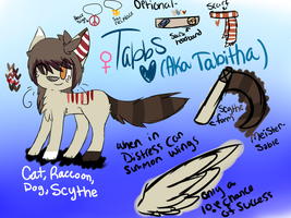 Tabitha Reference (MAIN DESIGN) by alkemii