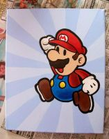Paper Mario Painting by kaylamckay