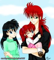 +adorable family+ by amethyst-rose