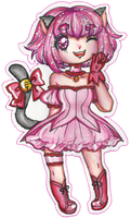 30 DAY MAGICAL GIRL CHALLENGE - DAY 01. Pink by sekaiichihappy