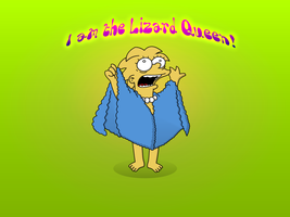 I am the Lizard Queen by Simpsonix