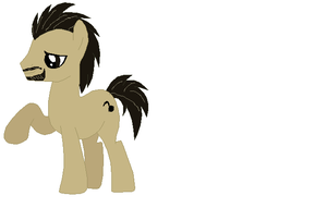 my dad as a pony by art-is-my-bream